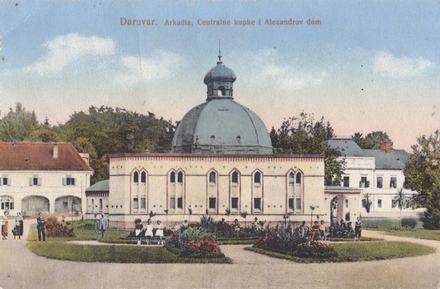 b - Razglednica iz 1923 godine